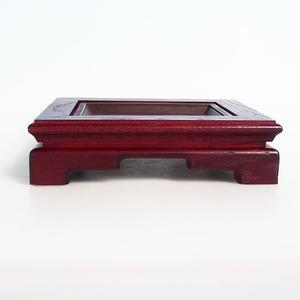 Hölzerner Bonsai Tisch 21,5 x 18 x 6 cm