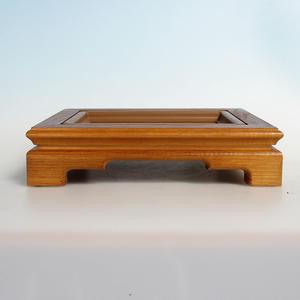 Holz Bonsai Tisch 28 x 22 x 6,5 cm