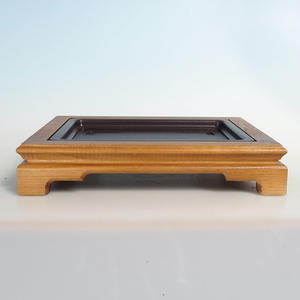 Holz Bonsai Tisch 35 x 28 x 6,5 cm