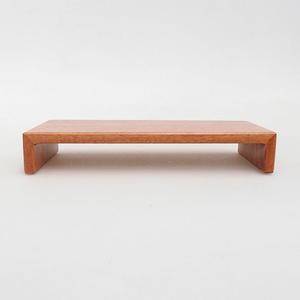 Holztisch unter Bonsai braun 17 x 8 x 3 cm