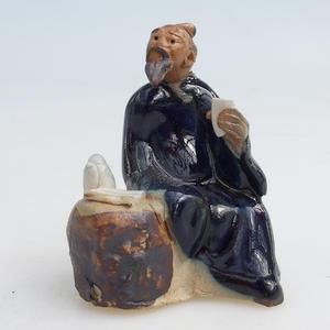 Keramikfigur - der Salbei mit Tee