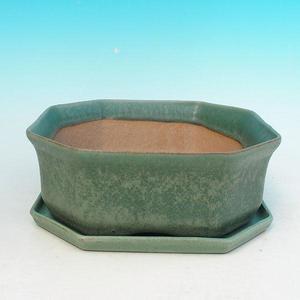 Bonsai-Schale und Tablett mit Wasser H 13