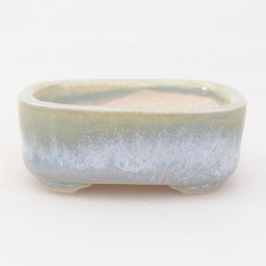 Mini-Bonsaischale 4,5 x 3,5 x 1,5 cm, Farbe blau