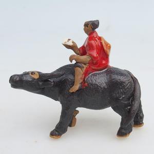 Keramik Figur - Buvol