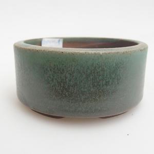 Keramik Bonsaischale 8,5 x 8,5 x 4 cm, Farbe grün