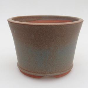 Keramik Bonsai Schüssel 11,5 x 11,5 x, 5 cm, Farbe blau