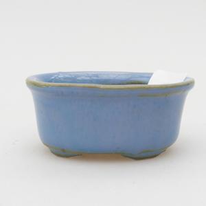 Mini-Bonsaischale 4,5 x 3 x 2 cm, Farbe blau