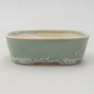 Keramik Bonsai Schüssel 2. Wahl - 11 x 11 x 8,5 cm, braune Farbe