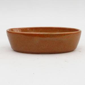 Keramik Bonsai Schüssel 2. Wahl - 15 x 9 x 4 cm, braune Farbe