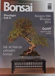 Bonsai-Zeitschrift - CBA 2014-2