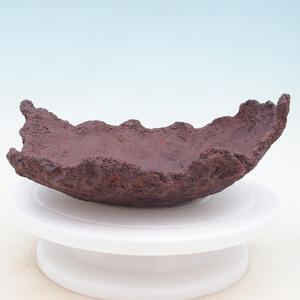 Keramická Skořápka 29 x 24 x 11 cm , barva  hnědá