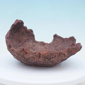 Keramická Skořápka 19 x 16 x 12 cm , barva  hnědá