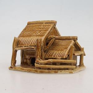 Keramikfigur - Chatrč