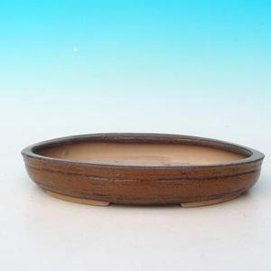 Bonsai Keramikschale CEJ 57, braun