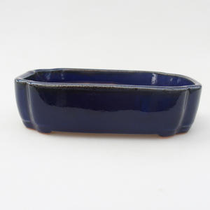 Keramik Bonsai Schüssel 10,5 x 8,5 x 4 cm, Krebse Farbe