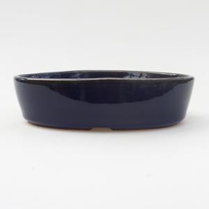 Bonsaischale aus Keramik 16 x 11 x 4 cm, Farbe blau