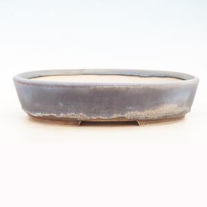 Bonsai miska 40 x 31 x 9 cm, barva šedomodrá