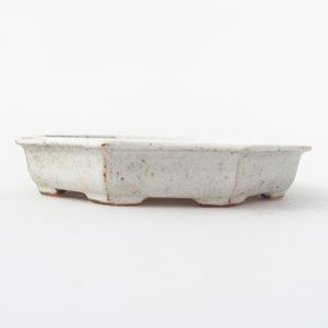 Keramik Bonsai Schüssel 11,5 x 11,5 x 2 cm, Krebse Farbe