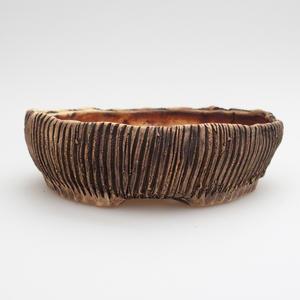 Keramik-Bonsai-Schale - im Gasofen bei 1240 ° C gebrannt
