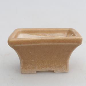 Mini-Bonsaischale 5,5 x 3,5 x 3 cm, Farbe braun