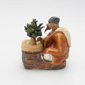 Keramik-Figur - Bonsajista, C