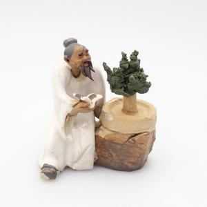 Keramik-Figur - Bonsajista, E