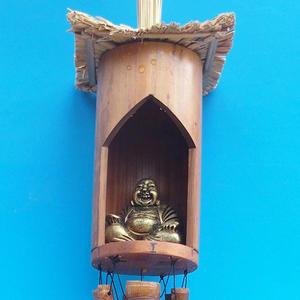 Bambus Windspiele Budha 120 cm