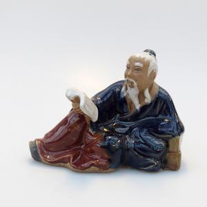 Keramik-Figur - Reader