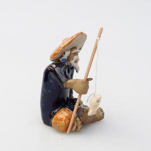 Keramik-Figur - Fisherman