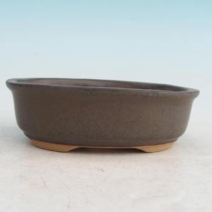 Bonsai Keramikschale H 04, braun