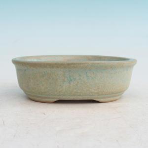 Bonsai Keramikschale H 04, grün
