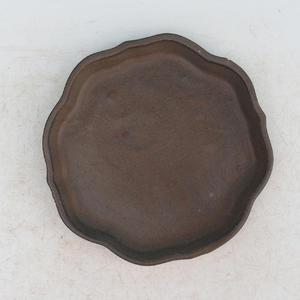 Bonsai Wasserschale H 06 - 13,5 x 13,5 x 1,5 cm