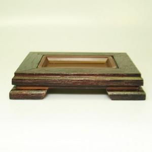 Holztisch unter einem Bonsai-PL-PP3