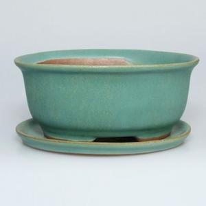 Bonsai-Schale und Tablett mit Wasser  H 30