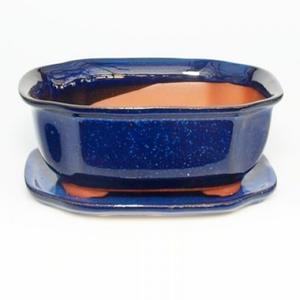 Bonsai-Schale und Tablett mit Wasser H 31