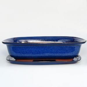 Bonsai-Schale und Tablett mit Wasser H 09