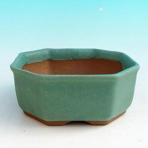 Keramik Bonsai Schüssel H 13 - 11,5 x 11,5 x 4,5 cm