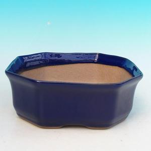 Keramik Bonsai Schüssel H 14 - 17,5 x 17,5 x 6,5 cm