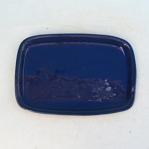 Bonsai-Wassertablett H 02 - 17 x 12 x 1 cm, weiß - 17 x 12 x 1 cm