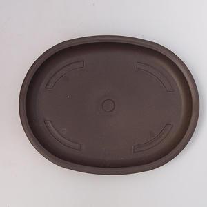 Bonsai Plastikschale Wasser PP-4, braun