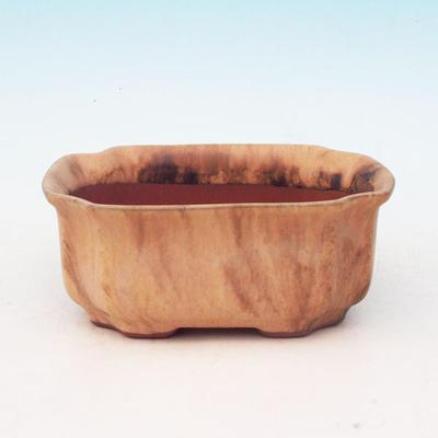 Bonsaischale aus Keramik H 01 - 12 x 9 x 5 cm - 1