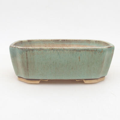 Keramische Bonsai-Schale 16,5 x 14 x 5,5 cm, Farbe grün - 1