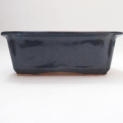 Keramische Bonsai-Schale 17,5 x 13 x 6 cm, hellblaue Farbe - 1