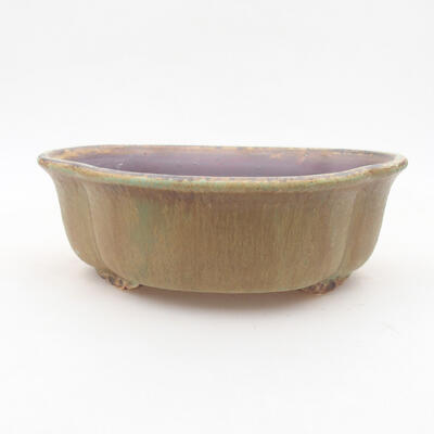 Keramische Bonsai-Schale 18 x 16 x 6 cm, Farbe grün - 1