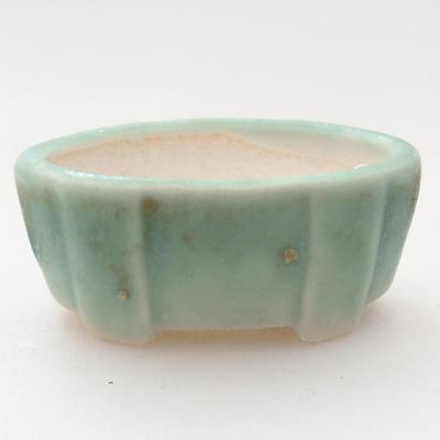 Mini Bonsai Schüssel 4 x 2,5 x 2 cm, Farbe grün - 1