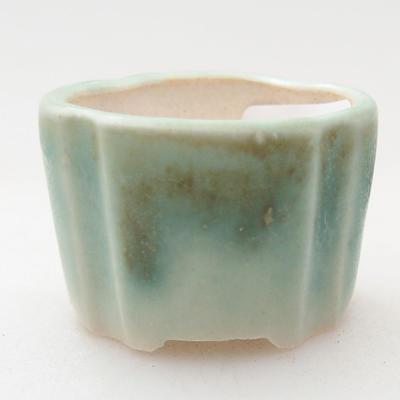 Mini Bonsai Schüssel 3 x 3 x 2 cm, Farbe grün - 1