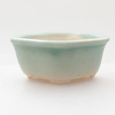 Mini Bonsai Schüssel 4,5 x 3,5 x 2 cm, Farbe grün - 1