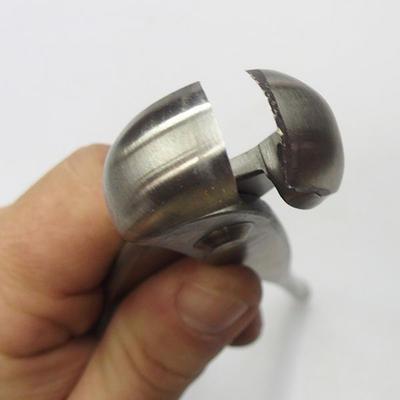 Zangen 20.5 cm Edelstahlfront - 1