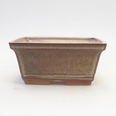 Bonsai-Schale 14,5 x 12 x 7 cm, Farbe braun - 1