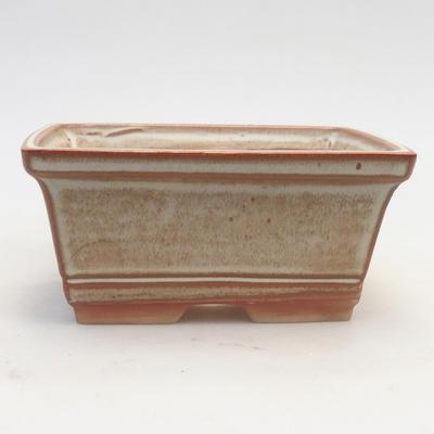 Bonsai-Schale 14,5 x 12 x 7 cm, braun-beige Farbe - 1
